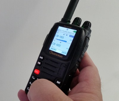 How to program the Wouxun KG-UV9D directly from the radio