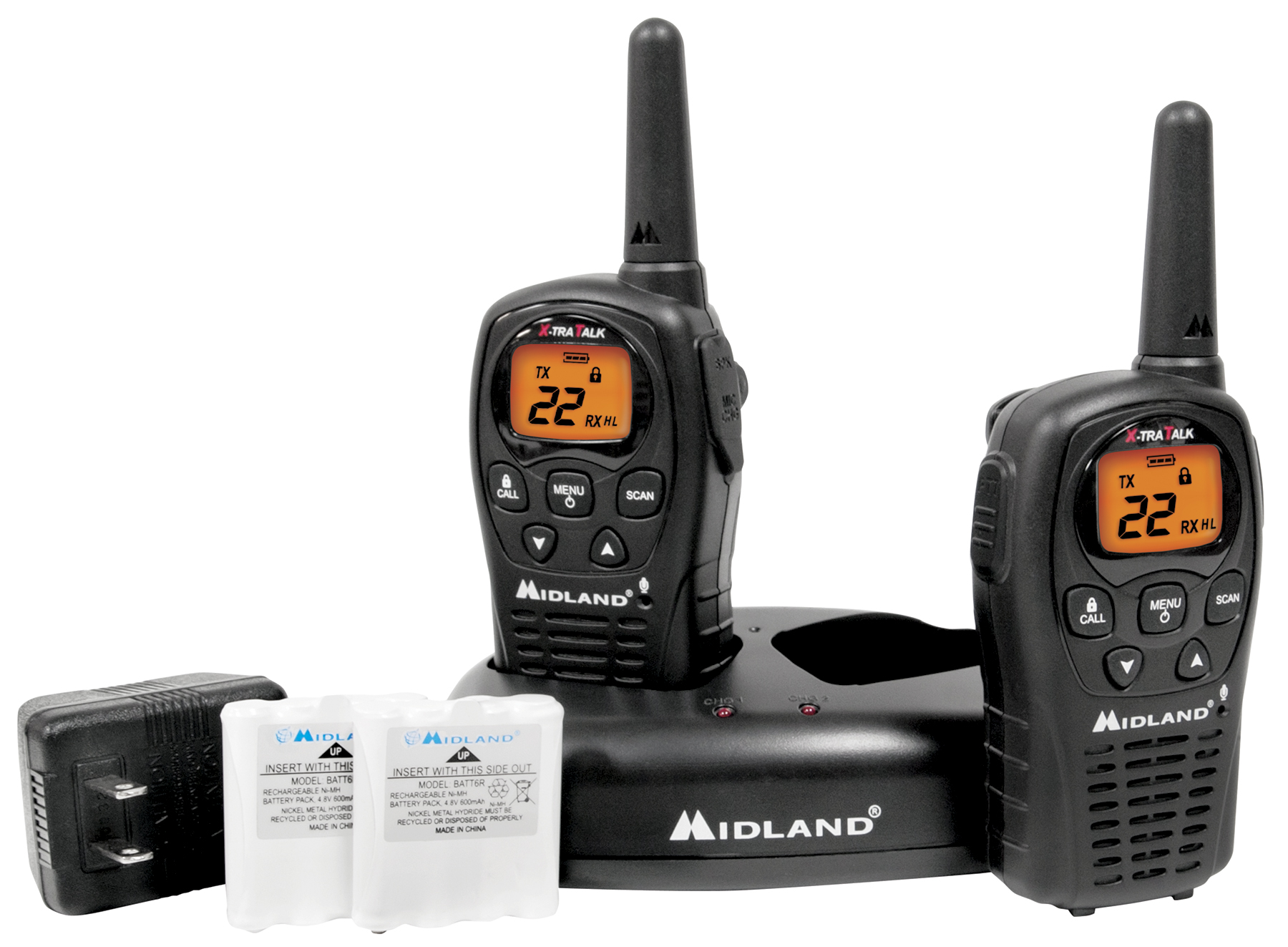 Midland's 2012 FRS/GMRS Two Way Radio Lineup