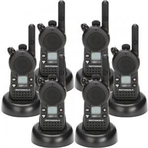 Motorola CLS1110 Radio Six Pack