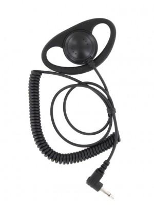XLT DR110-35 D-ring Listen Only Earpiece