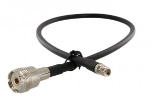 SMA Female to UHF Female (SO239) 18 inch Pigtail Cable (RG58)