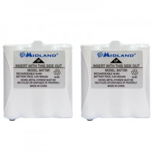 Midland AVP8 Rechargeable Battery Packs