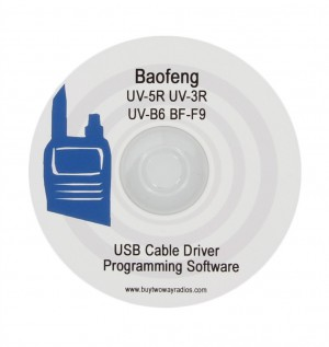 Baofeng UV Series USB Data Cable Driver and Programming Software