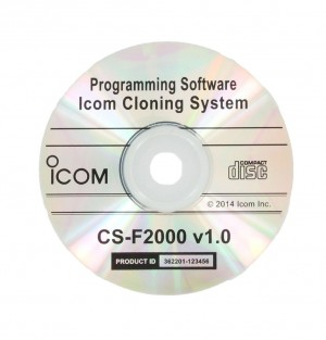 Icom Programming Software for F1000/F2000 Radios (CSF2000)