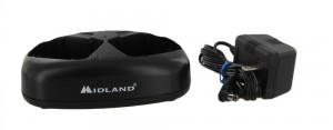 Midland AVP-10 Dual Desktop Charger with AC Adapter (18CVP8)