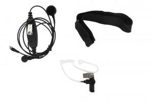 XLT TM350 Adjustable Single Transducer Throat Mic
