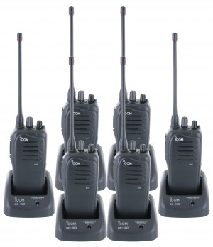 Icom F4011 Six Pack