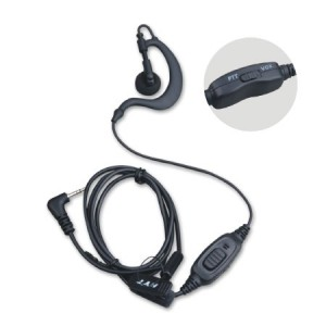 HYT EHS09 Earpiece with PTT and VOX for HYT TC-310