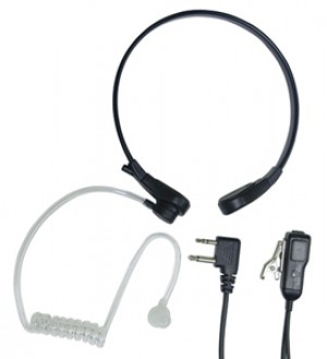 Midland AVPH8 Throat Mic with PTT Switch