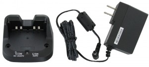 Icom BC202IP2 Rapid Charger For IP501H and IP100H Radios