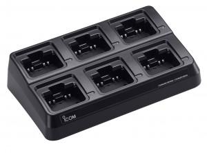 Icom BC-211 Multi-Unit (6) Desktop Charger for IP100H/IP501H