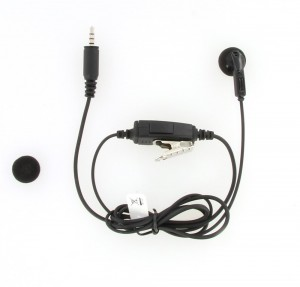 Kenwood KHS-33 Earbud With In-line PTT For PKT-23 Radios