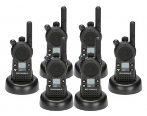 Motorola CLS 1410 Radio Six Pack