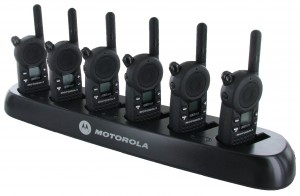 Motorola CLS 1410 Radio Six Pack + Multi-Charger