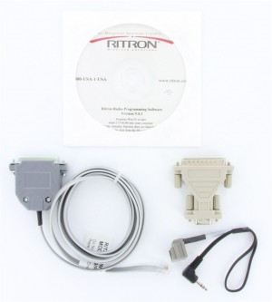 Ritron Jobcom Programming Software and Cable