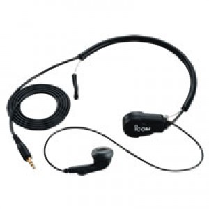 Icom HS-97 Earphone with Throat Mic