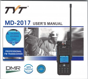 TYT MD-2017 User Manual