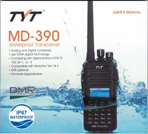 TYT MD-390 User Manual