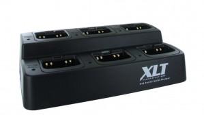 XLT 6-Unit Multi-Charger For Icom BP-265 (F3001 / F4001 / F3210D / F4210D / T70A / V80)