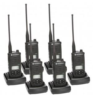 Motorola RDX RDU4160d Radio Six Pack