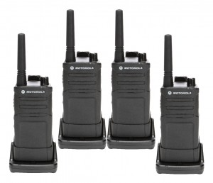 Motorola RMM2050 MURS Radio Four Pack