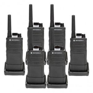 Motorola RMM2050 MURS Radio Six Pack