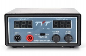 TYT TH-1380 30A Switching Power Supply with Dual LCD