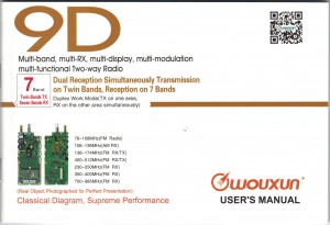 Wouxun KG-UV9D User Manual