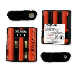 Empire 3.6V 1500mAh NIMH Battery (Replaces Kenwood KNB-27)