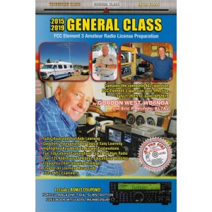 Gordon West General Class Manual (2015-19) w/ Bonus Audio CD