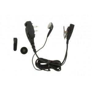 Icom HM-166LA Medium Duty Earphone Microphone