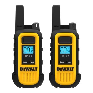 DeWALT DXFRS300 FRS Business Radio Value Pack (2 Radios + Earpieces)
