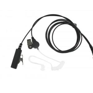 XLT SE440 2-Wire Surveillance Earpiece with PTT Mic