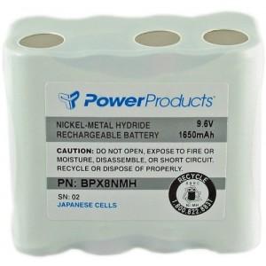 Power Products 9.6V / 1650 mAh / NiMH Battery (BPX8NMH)