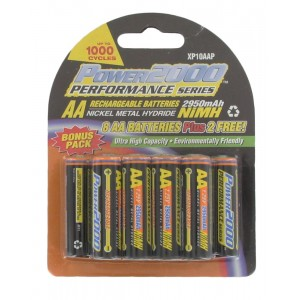"Rechargeable ""AA"" NiMH Battery For Handheld CB Radios (10 pack)"