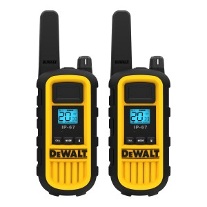 DeWALT DXFRS800 FRS Business Radio Value Pack (2 Radios + Earpieces)