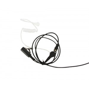 XLT SE110 Surveillance Earpiece with PTT Microphone