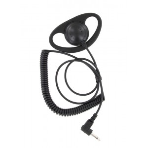 XLT DR110-35 D-ring Listen Only Earpiece
