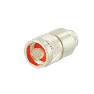 RF Industries N Male Connector for 600 Coax (Straight/Crimp)