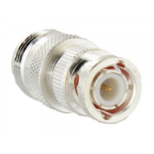 RF Industries N Female/BNC Male Adapter