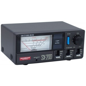 Diamond Antenna SX200 Power / SWR Meter (1.8-200 MHz)