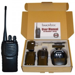 BlackBox Plus Two Way Radio (VHF)