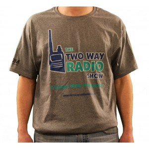 The Two Way Radio Show Gray Cotton T-Shirt