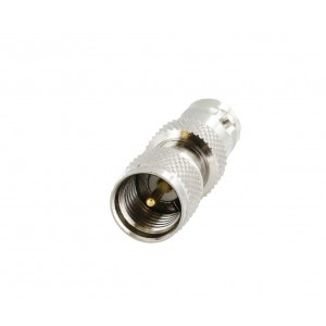 Tram 5383 Mini-UHF Male to BNC Female Adapter