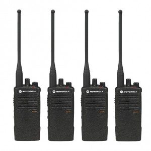 Motorola RDX RDU4100 Radio Four Pack