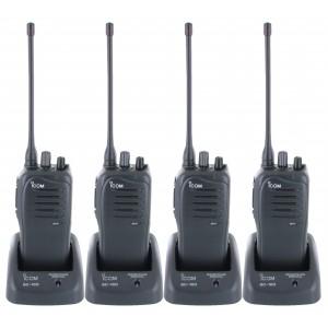 Icom F4011 Four Pack