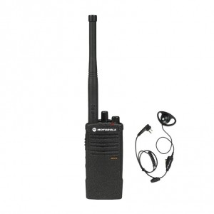 Motorola RDX RDV5100 Radio Radio + D-Ring Earpiece