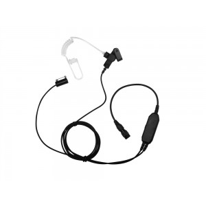 Impact Platinum P3W-AT1 3-Wire QD Surveillance Earpiece