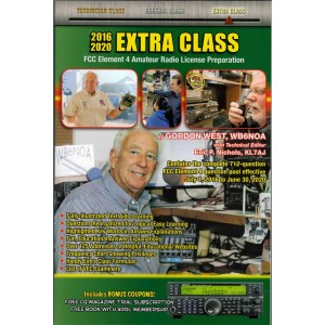 Gordon West Extra Class Manual (2016-20)