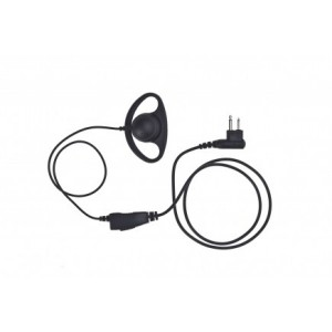 Impact Silver Series D-Ring Earpiece (S1W-D2)